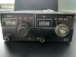 Aviation Aircraft 14 Volt King Kx170a Nav Comm Radio Sold As Is As Removed.part