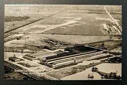 Mint Vintage Engineering Laboratory And Airport Ford Motor Company Rppc