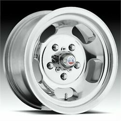 4 New 17x10 Us Mag Indy Polished Wheel/rim 8x165.1 Center Cap Not Included