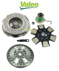 VALEO-STAGE 3 CLUTCH KIT+ CHROMOLY FLYWHEEL for 11-19 MUSTANG GT BOSS 302 5.0L
