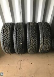 4x P255/50r19 Dunlop Sp Winter Sport 3d Mo 10/32 Used Tires