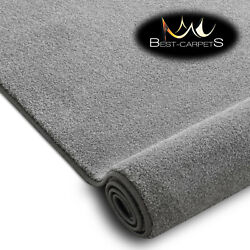 Hardwearing Soft Carpets And039discretionand039 Silver Very Thick Large Size Best-carpets