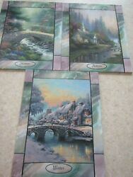 Thomas Kinkade Stained Glass Collection Time Seasons Your Choice