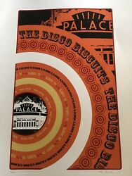 Disco Biscuits Poster🚦palace 🚥5/13/06albany New York, Artist Matt Bookbinder🌟
