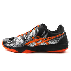 Asics Gel Fastball 3 Menand039s Badminton Shoes Squash Volleyball Shoes Nwt E712n-001
