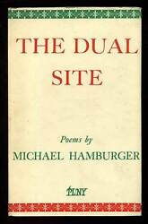 Michael Hamburger / The Dual Site First Edition 1958