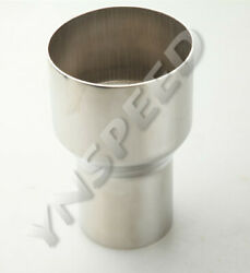 3 Id To 2.25 Od Exhaust Reducer Connector Pipe Stainless Steel Us Ship
