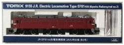 Tomix N Scale JR Electric Locomotive Type EF81-400 Kyushu Railway/Red No.2 #d70