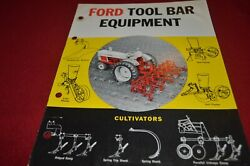 Ford Tractor Tool Bar Equipment Dealers Brochure Amil15