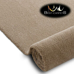 Hardwearing Soft Carpets And039starand039 Beige Very Thick Durable Large Size Best-carpets