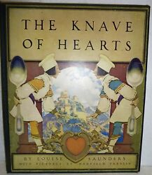 Maxfield Parrish / The Knave Of Hearts By Louise Sanders First Edition 1925