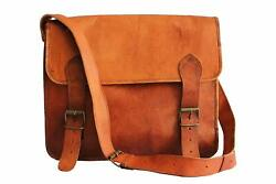 Men#x27;s Messenger Large Bag Shoulder Male Leather Cross body Bags Travel Briefcase $47.00