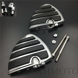 For Yamaha V-STAR 1100 650 V-MAX Virage 750 Wing Motorcycle Foot Rest Pegs