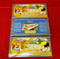 Disney World Monorail Playset Track Extension 3 Boxes Curved Beams Free Ship Usa