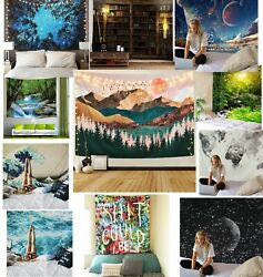 USA Wall Hanging Tapestry Hippie Psychedlic Tapestry Bedspread Home Dorm Decor