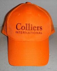 Nwot Colliers International Commercial Real Estate Company Logo Baseball Hat Cap