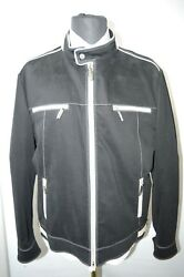 NEW 9450,00 $ STEFANO RICCI  Outwear Top Over Coat Leather Us M Eu 50 (G133)