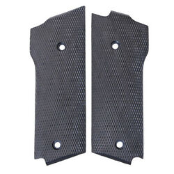 Fits Sandw 59 459 659 Black Rubber Checkered New Uncle Mikes Grips