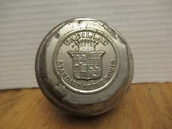 Vintage Cadillac Standard Of The World Hub Cap Dust Cover About 3 Inches Across