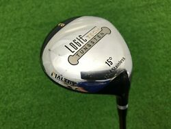 Nice Maltby Golf Logic Tech Tungsten 3 Wood 15 Right Handed Rh Graphite Regular