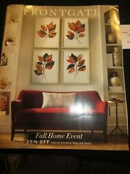 Frontgate Catalog Look Book August 2019 Fall Home Event New
