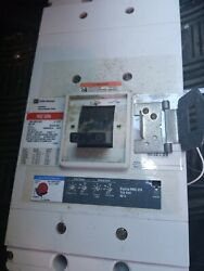 Cutler Hammer Nd312t36w Circuit Breaker 1200a 3-pole 600v W/ Auxiliary Switch