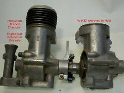 RARE Unfinished pre-production Atwood Champion Engine Crankcase Casting