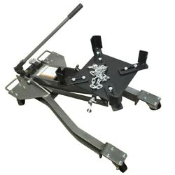 1 Ton 2000 Lb Low Profile Transmission Jack Heavy Duty Lifting Maximum 31-1/2and039and039
