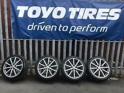 18andrdquo Genuine Audi S3/a3 /vw Golf/ Caddy Van / Wheels And Tyres Set Of 4 Dunlop Tyre
