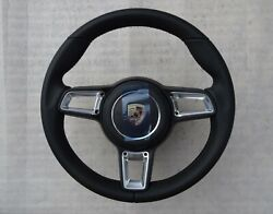 Porsche 991 991.2 Stick Turbo S 997.2 Gt Black Leather Steering Wheel And A Bag