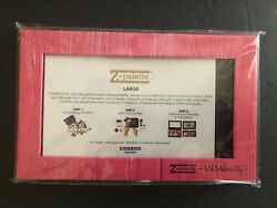 New Ulta Exclusive Z Palette Large Pink Patterned Empty Magnetic Makeup Case