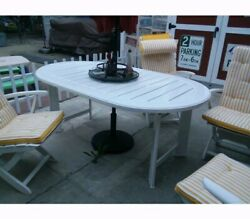 Vintage Triconfort Patio Table Outdoor Patio Furniture Htf Rare