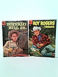 Comic Books Roy Rogers And Trigger And Buffalo Bill Jr. Golden Age Of Comics