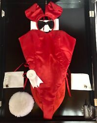 Playboy bunny rare complete vintage costume with lighted case $4k