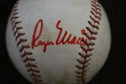 Yankees Mickey Mantle And Roger Maris Signed Baseball Dual Authentication Jsa