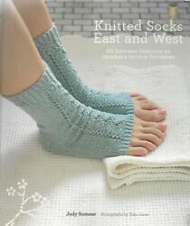 Knitted Socks East And West-30 Design Inspired By Japanese Stitch Patterns-gifts