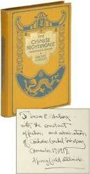 Vachel Lindsay / The Chinese Nightingale And Other Poems First Edition 1917