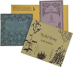 Edward Gorey / Three Books From The Fantod Press The Pious Infant 1st Ed 1966