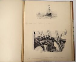 29 Drawings Feather A.brown Cruise Norway Medje Newspaper The Yacht 1897