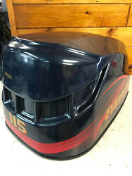 1998 Evinrude 115 Hp Ficht 2 Stroke Outboard Engine Top Cowl Hood Freshwater Mn