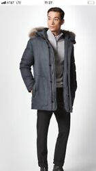 PORSCH DESING THE  M COYOTE WINTER PARKA DHGRY( 50) $ 1200