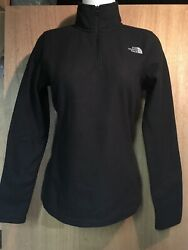 The Northface Women#x27;s Glacier Fleece Jacket Black S Retails $55 $34.99