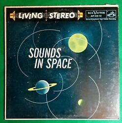 Sounds In Space Stereo Orthophonic Lp Rca Victor Living Stereo Sp-33-13 1958