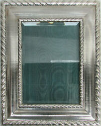 Buccellati Sterling Silver Torchon Picture Frame 11 X 9 In Box And Coa