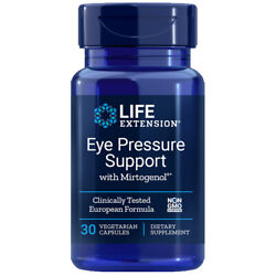 Eye Pressure Support W/ Mirtogenol 30 Caps Life Extension French Maritime Pine