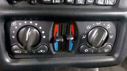 04-05 Chevy Monte Carlo Dual Zone Climate Control Assembly Intimidator #3