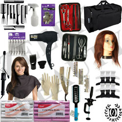 Cosmetology Mannequin Head - State Board Exam 100 Approved Beauty School Kit