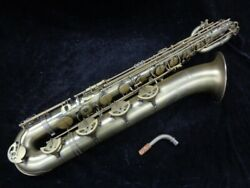 P. Mauriat PMB-300DK Matte Finish Low A Baritone Sax – Monster Player!