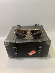 Chopard Sunglasses Mille Miglia limited edition 23kt gold   with