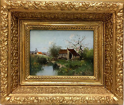 Eugene Galien-Laloue 1854-1941 French Impressionist Oil Painting